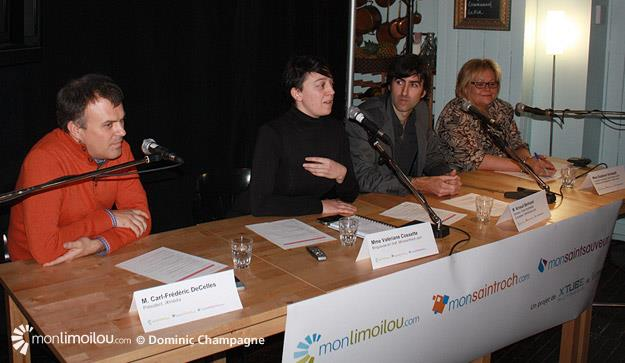 Lancement Monsaintroch.com et Monsaintsauveur.com