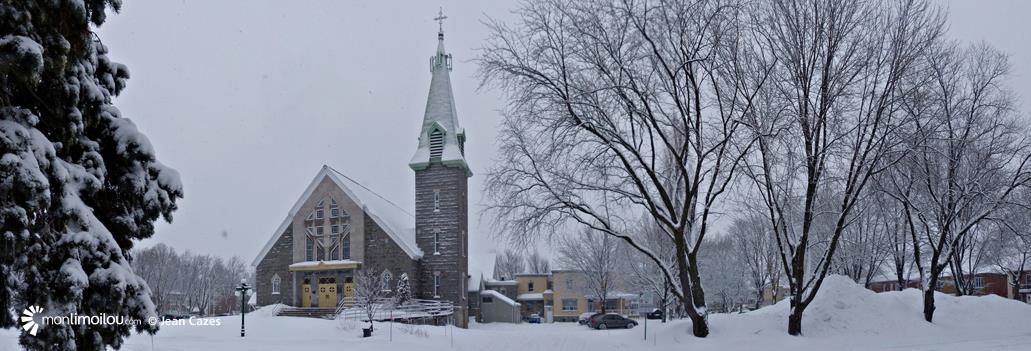 Église Saint-Albert-le-Grand, quartier Limoilou