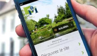 Application mobile au Domaine Maizerets
