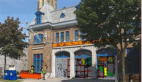 La Caserne des tout-petits, tel que présenté par 1-2-3 Go! Limoilou en 2012.