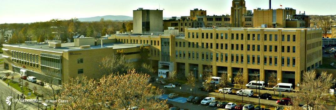 Hôpital de L'Enfant-Jésus,  4 novembre 2013.