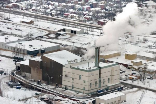 L'incinérateur de Québec. Photothèque Le Soleil, Jean-Marie Villeneuve.