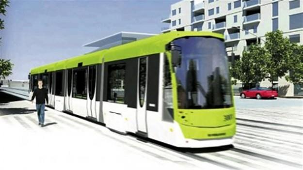 Image provenant de la vidéo faisant la promotion d'un tramway à Québec