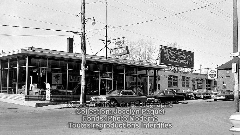 Limoilou dans les ann es 1960 62 garage montcalm for Garage bourny automobiles laval