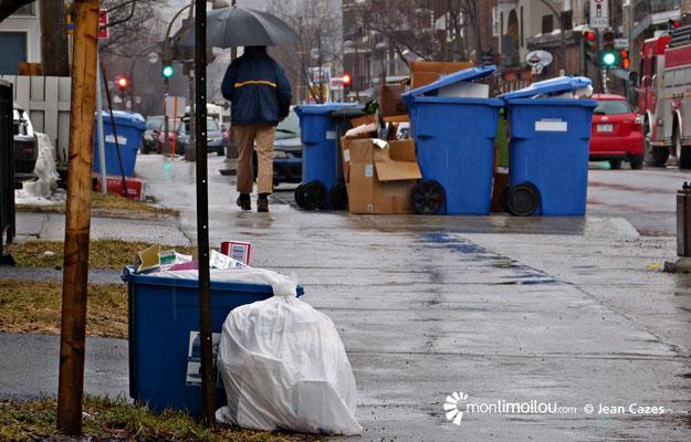 Collecte des ordures, 3e Avenue