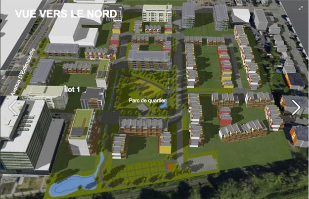 Concept - Écoquartier d'Estimauville