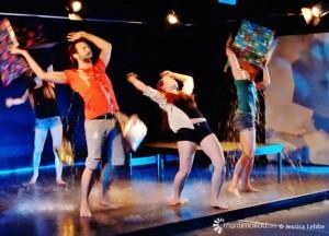 Les étudiants présentent huit créations inspirées des pièces québécoises qu'ils ont étudiées.