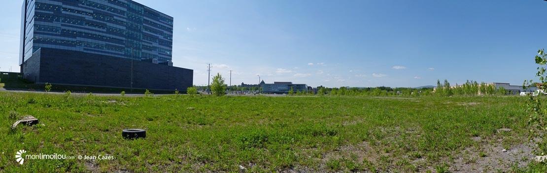 Écoquartier D'Estimauville. édifice du fédéral