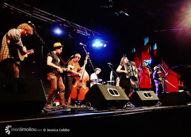 Le groupe Canailles a clôturé trois jours de festivité à Limoilou en musique ce dimanche 21 juin.