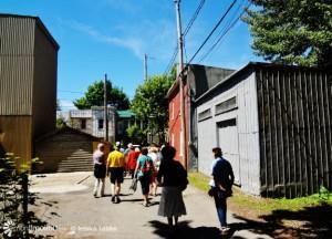 Certains ne se sont jamais baladés dans les ruelles de Limoilou et les découvrent avec les textes des auteurs de la promenade.