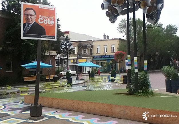 Plaza Limoilou, politique, chemin de la Canardière