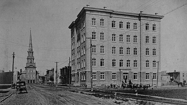 Ancienne école Saint-Charles-de-Limoilou, 4e Avenue