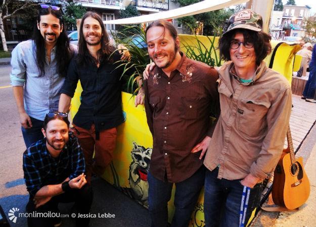 Le groupe Raton Lover affiche son attachement à Limoilou toute cette fin de semaine.