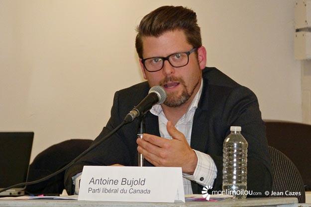 Élections, Centre Jean-Guy Drolet, Antoine Bujold
