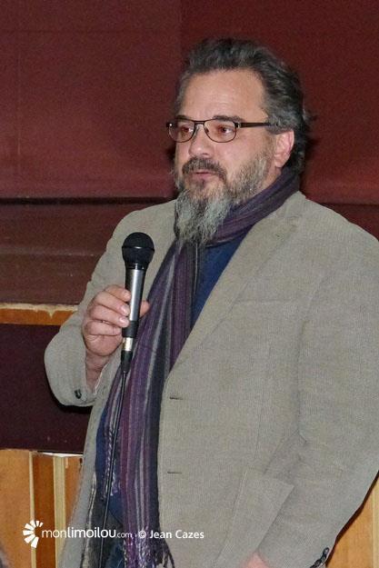 Plaza Limoilou, présentation publique du bilan. Nicolas Marcoux.