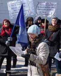 Marche des femmes 2016. Marie-Hélène Fortier.