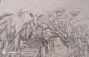 Une ville imaginée par Celer