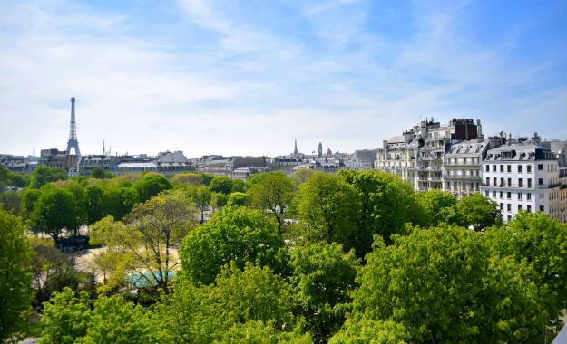 Photo de Paris prise par Mathilde Crépin-Bournival, dans le cadre de son projet Regards.