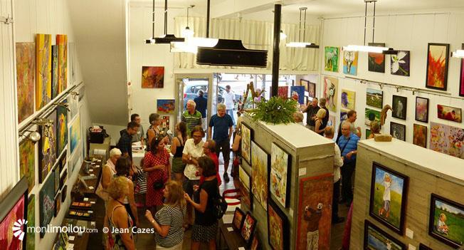 Galerie Alfred-Pellan, 3e Avenue. 28 juillet 2016.