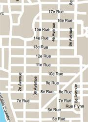 Ville de Québec - extrait carte