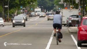 Bandes cyclables de la 3e Avenue