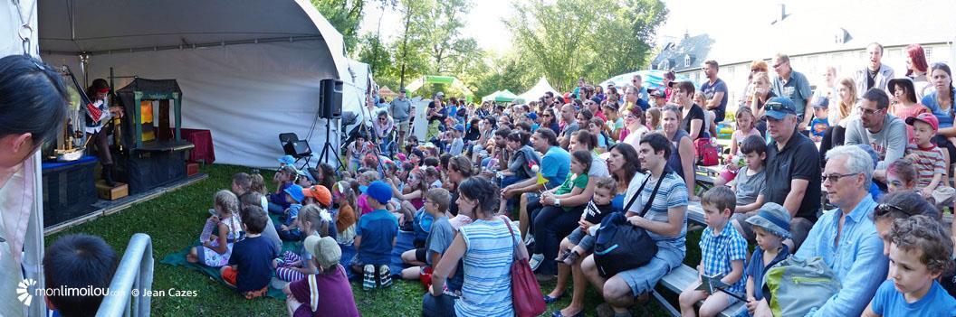 Domaine Maizerets. Festival des marionnettes 2016.