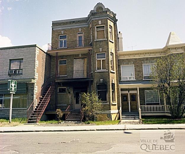 1re Avenue. Archives de la Ville de Québec.