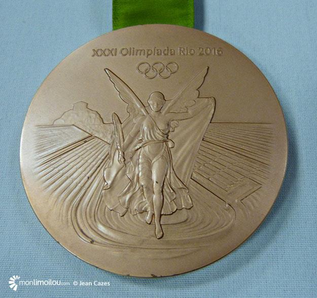 Médaille de bronze de Karen Paquin