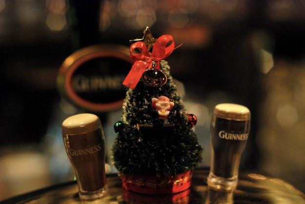 Noël dans les bars