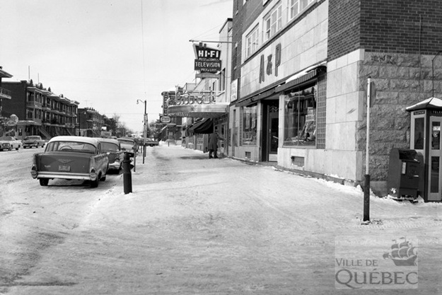 3e Avenue. Archives de la Ville de Québec
