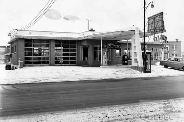 Garage Bédard Enr. Archives de la Ville de Québec