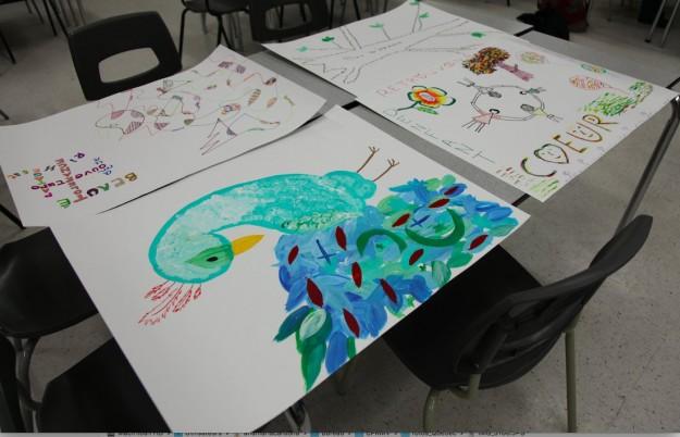 Une vingtaine de participants ont mis leur créativité au service (Photos courtoisie : Centre de prévention de la radicalisation menant à la violence)