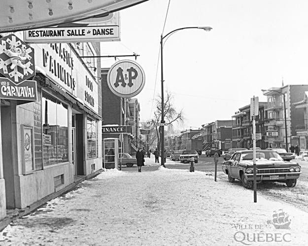 3e Avenue. Archives de la Ville de Québec.