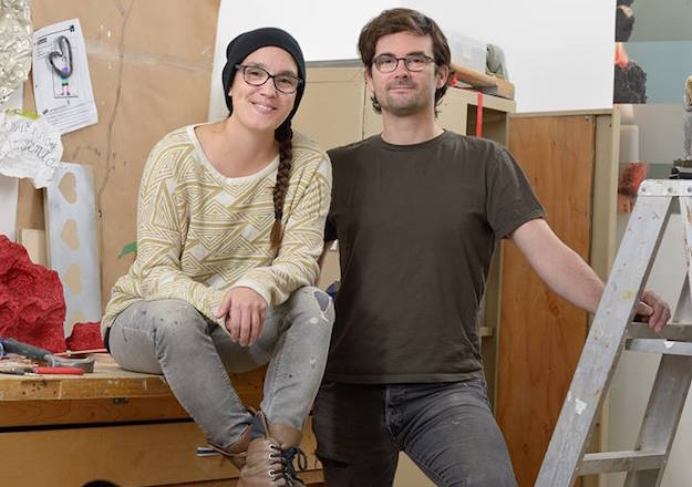 Marie-Pier et Pierre Brassard forment le collectif Pierre & Marie. (Photo courtoisie : Étienne Boucher)