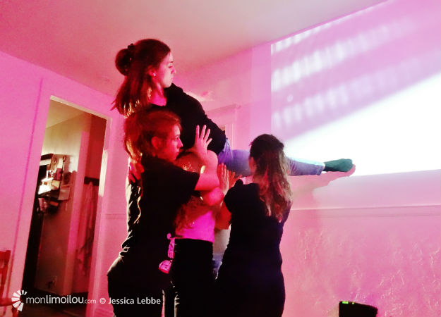 Les artistes ont travaillé seulement dix heures dans un appartement inconnu avec la chorégraphe Karine Ledoyen.
