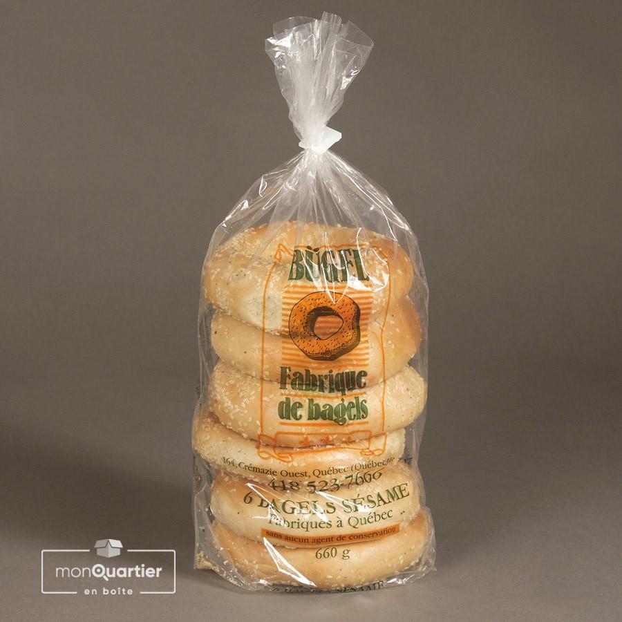 Mélange 6 bagels découverte