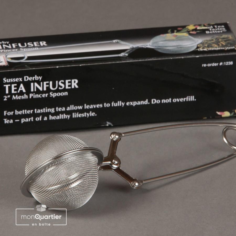 Pince à thé infuseur