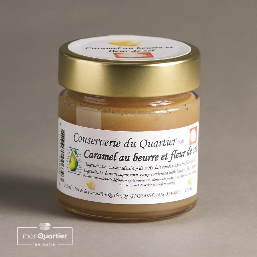 Caramel au beurre et fleur de sel
