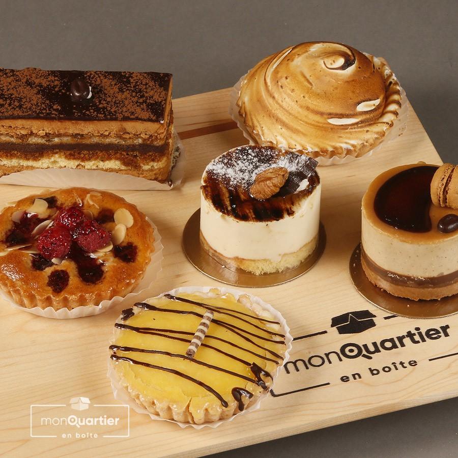 Boîte dessert du Panetier