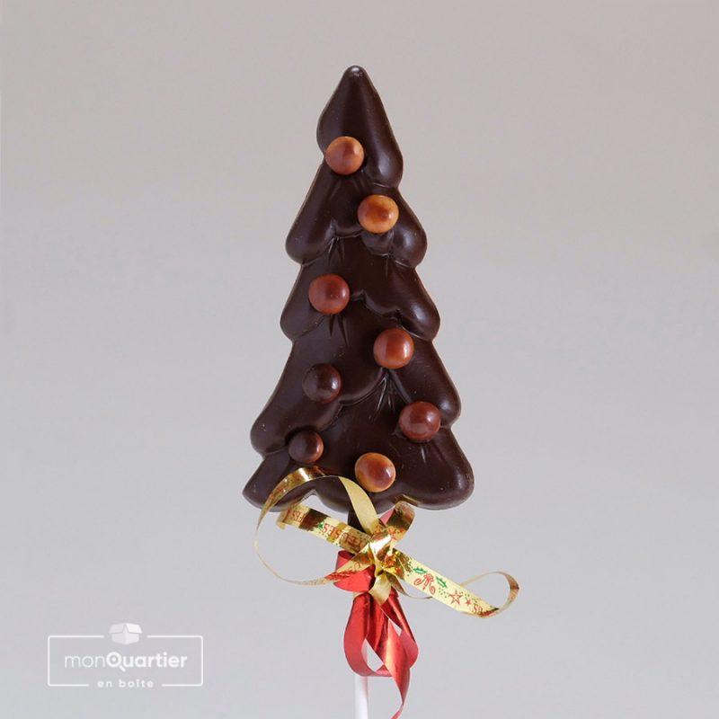 Sapin au chocolat