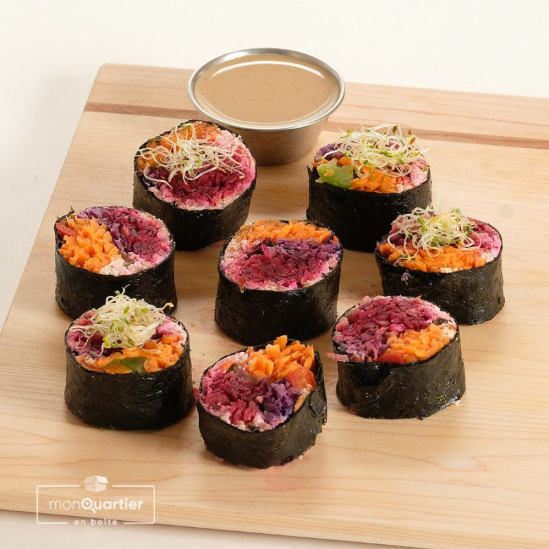 Sushis véganes