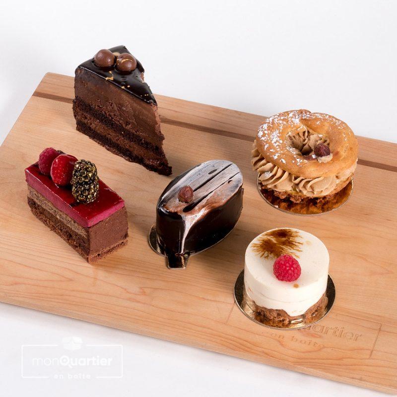 Boîte dessert découverte de la Baraque