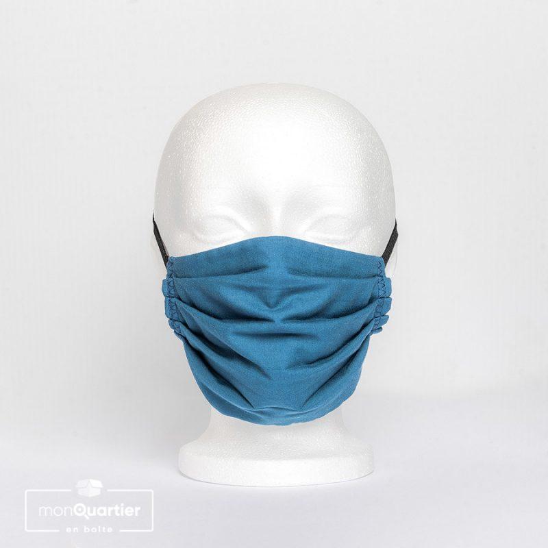 Masque facial en tissu 3 plis