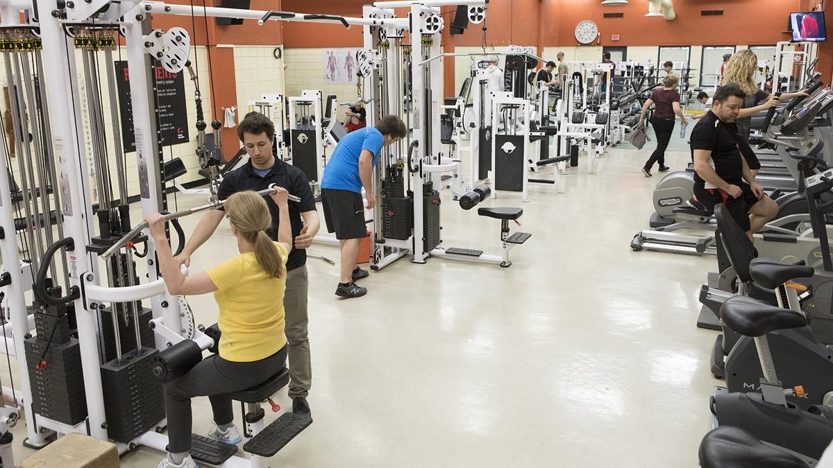 Abonnement d'un mois aux salles d'entraînement du Cégep Limoilou   Complexe sportif du Cégep Limoilou