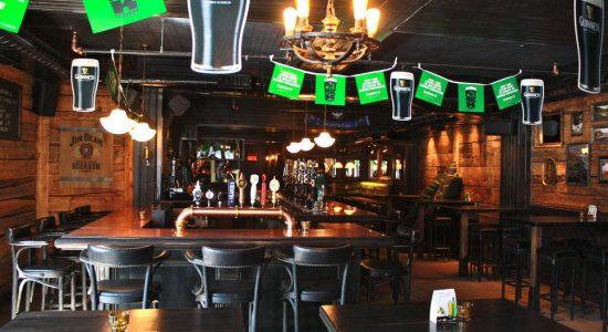 La taverne irlandaise Le Trèfle lorgne Limoilou - Monlimoilou