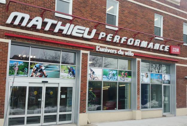 Mathieu Performance ouvre une salle de montre | 16 mars 2016 | Article par Julie Collin