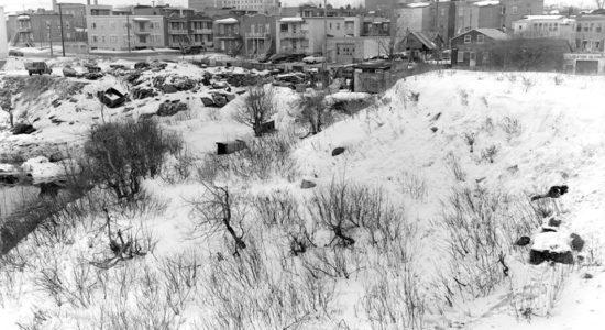 Limoilou dans les années 1950 (35): dépotoir au parc Cartier-Brébeuf - Jean Cazes