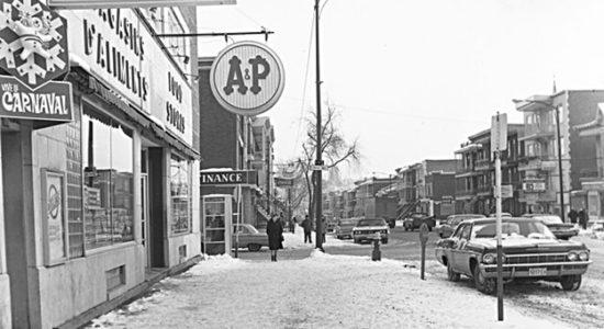 Limoilou dans les années 1960 (75): 3e Avenue - Jean Cazes