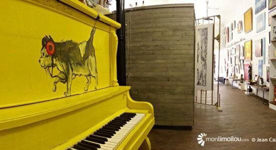 Pour le retour du piano jaune sur l'Espace parvis - Viviane Asselin