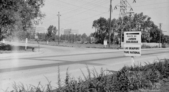 Limoilou dans les années 1940 (24) : intersection Henri-Bourassa et Canardière - Jean Cazes